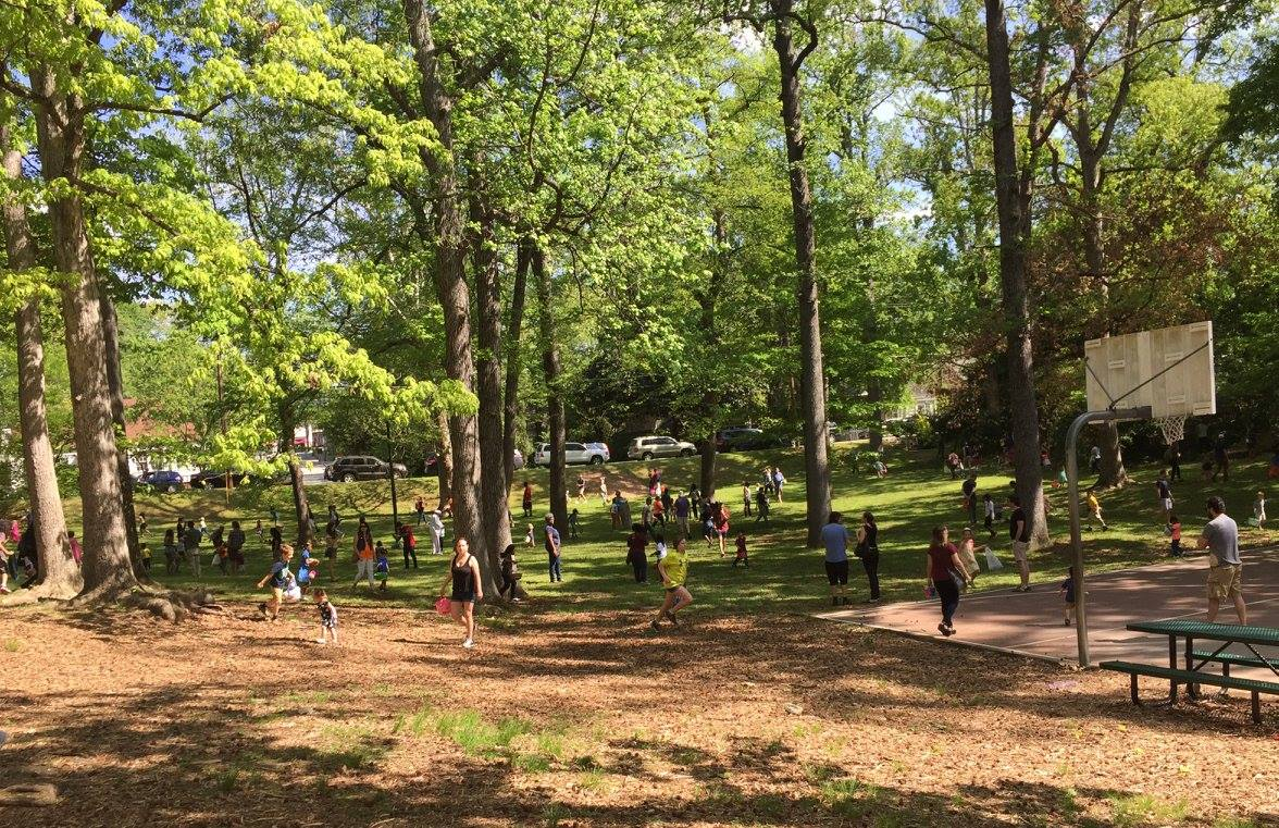 Easter Egg Hunt & Festival - Family fun in Brownwood Park hosted by East Atlanta Kids Club