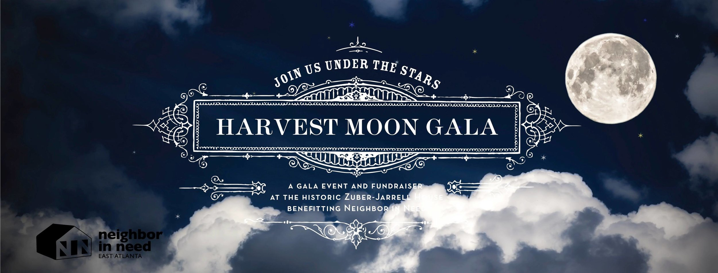 Under the Harvest Moon - Saturday, October 21, 2017A Gala to benefit Neighbor In Need