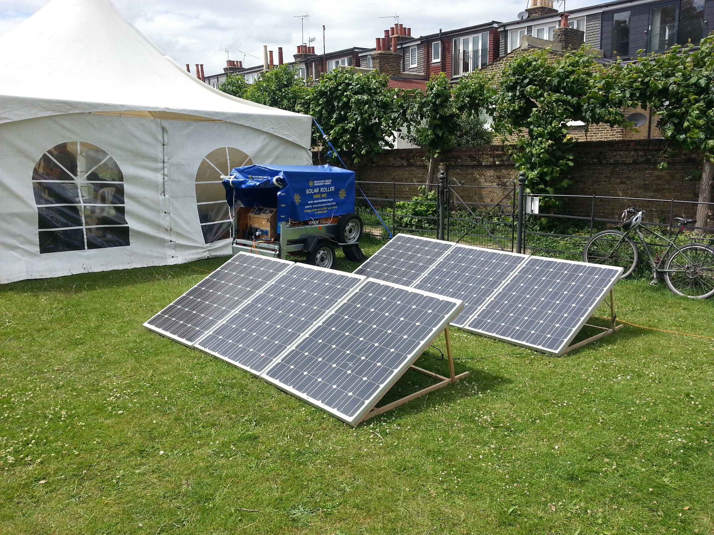 Mobile solar power -