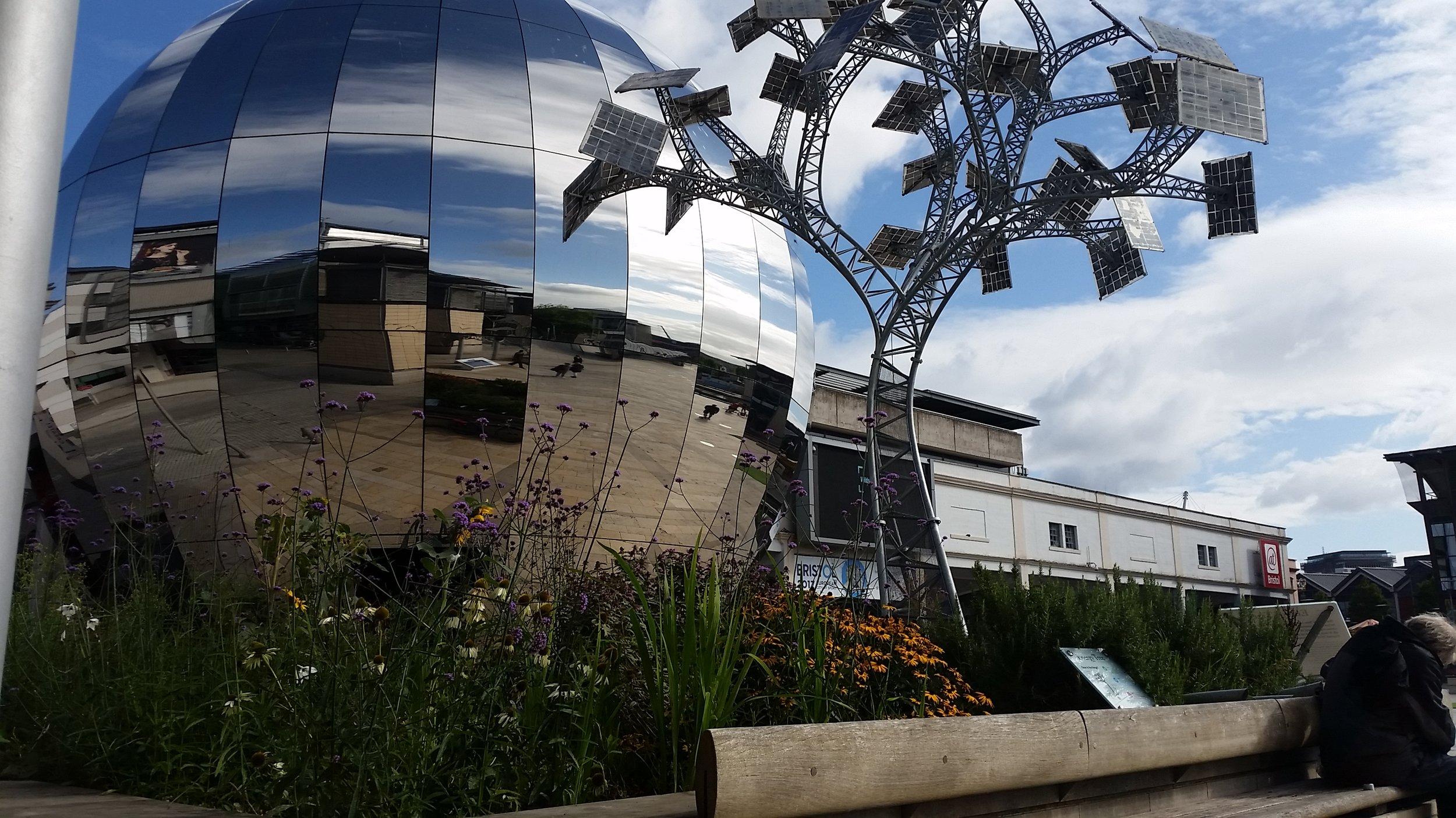 Energy Tree - Millennium Square, Bristol, 2015