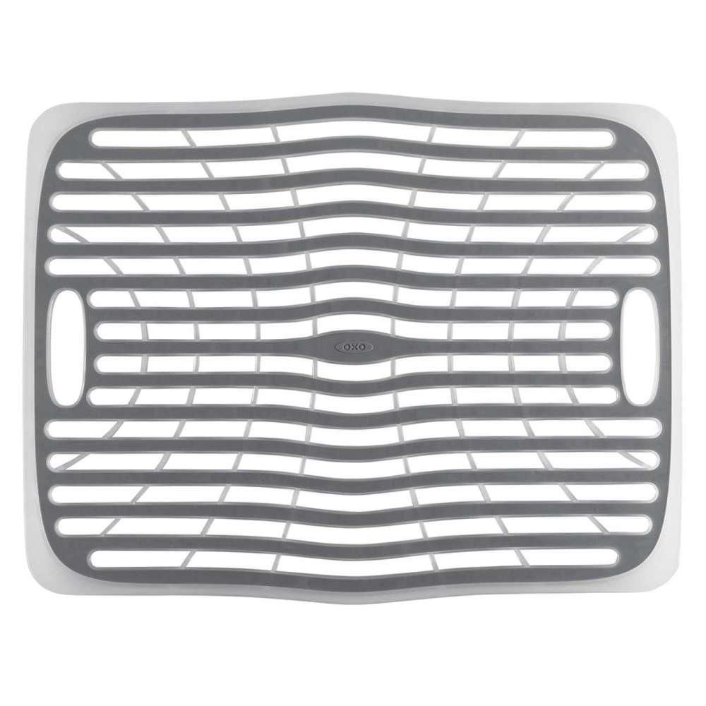 Large Sink Mat - It's like a pillow for your sink—this sink mat protects dishes from chipping and scratching. It's designed to let air and water to flow freely, helping keep mildew build-up away.
