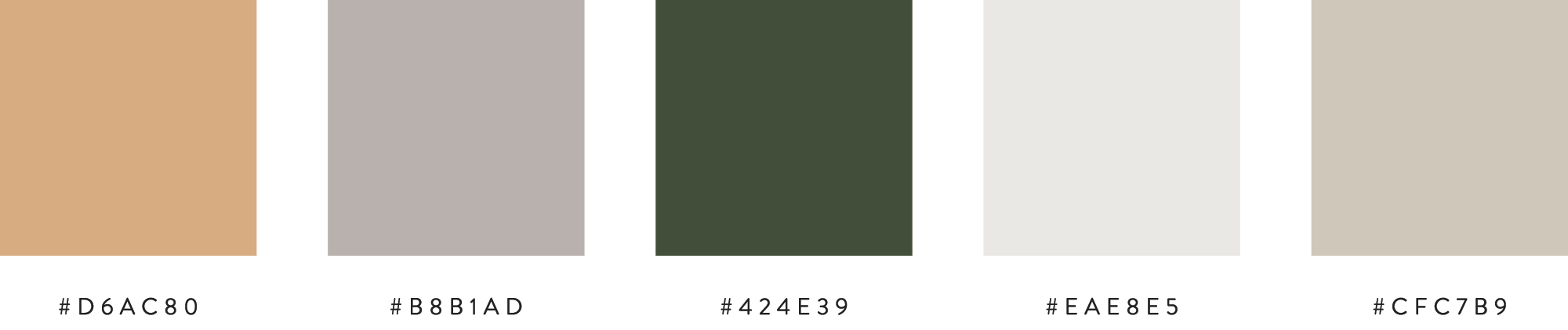 The Busy Bee Megan Baylerian Color Palette Color Inspiration Branding Earthy