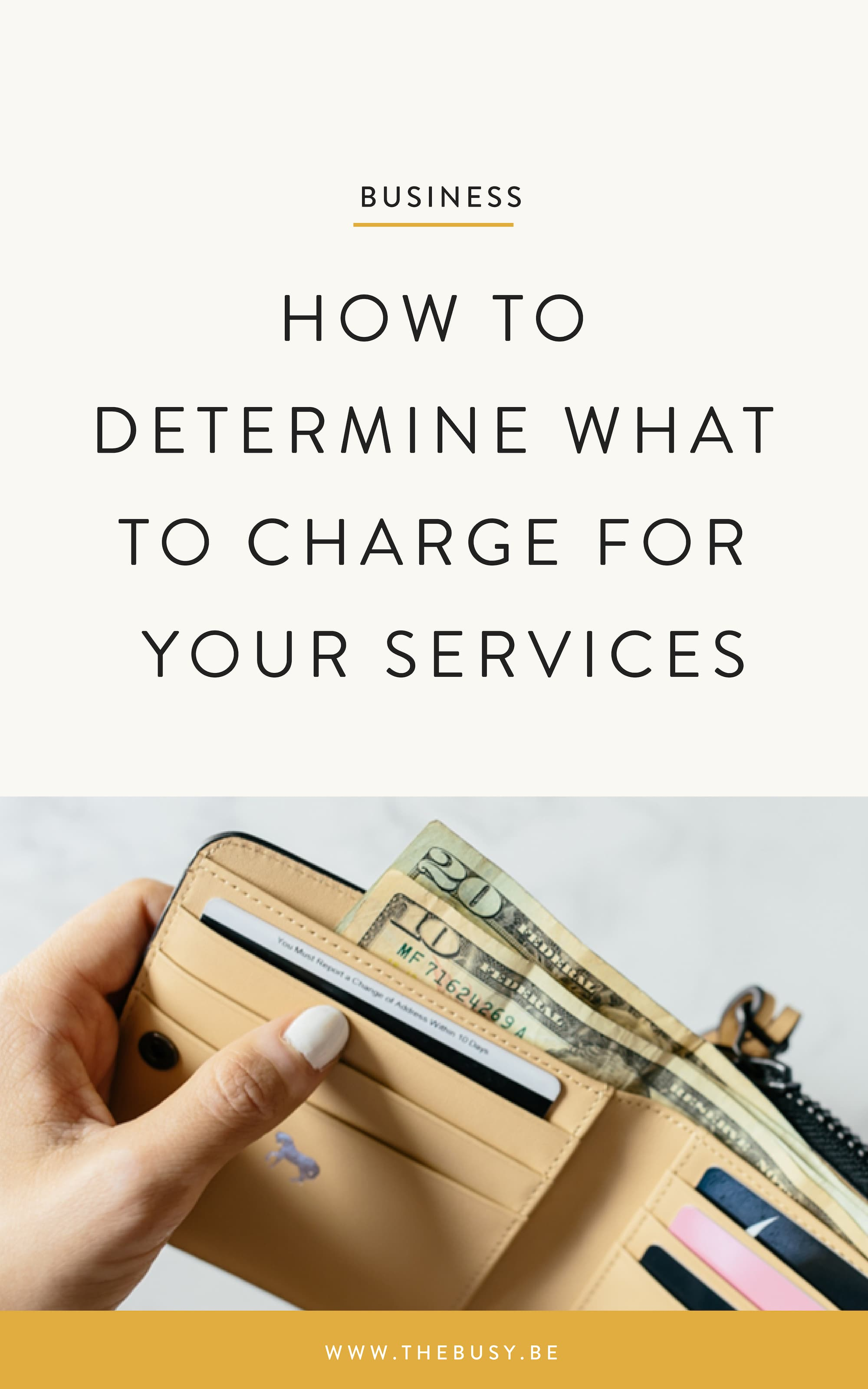 The Busy Bee Squarespace Web Design Business Tips How to Determine What To Charge For Your Services