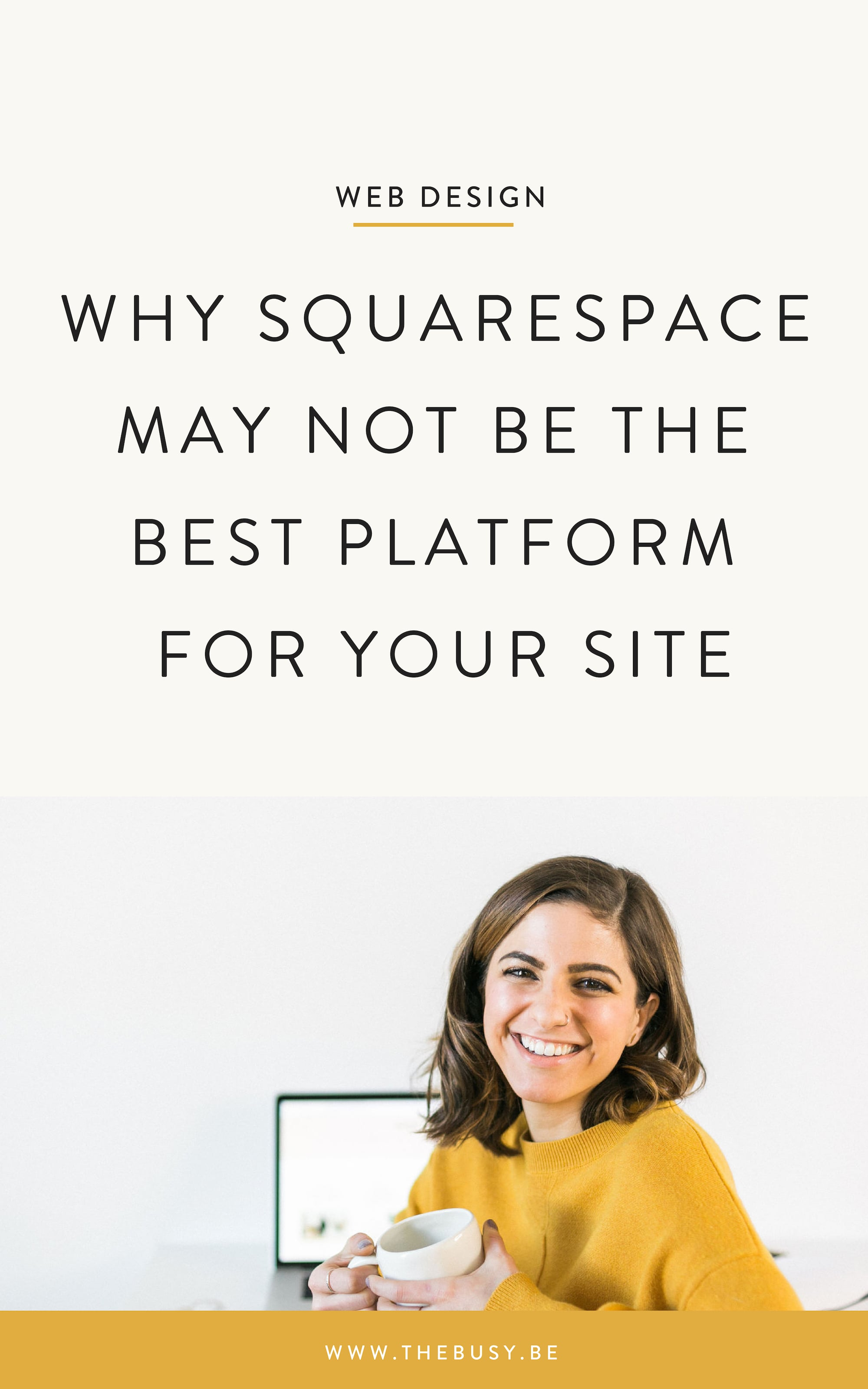 Why Squarespace May Not Be The Best Platform For Your Site - The Busy Bee