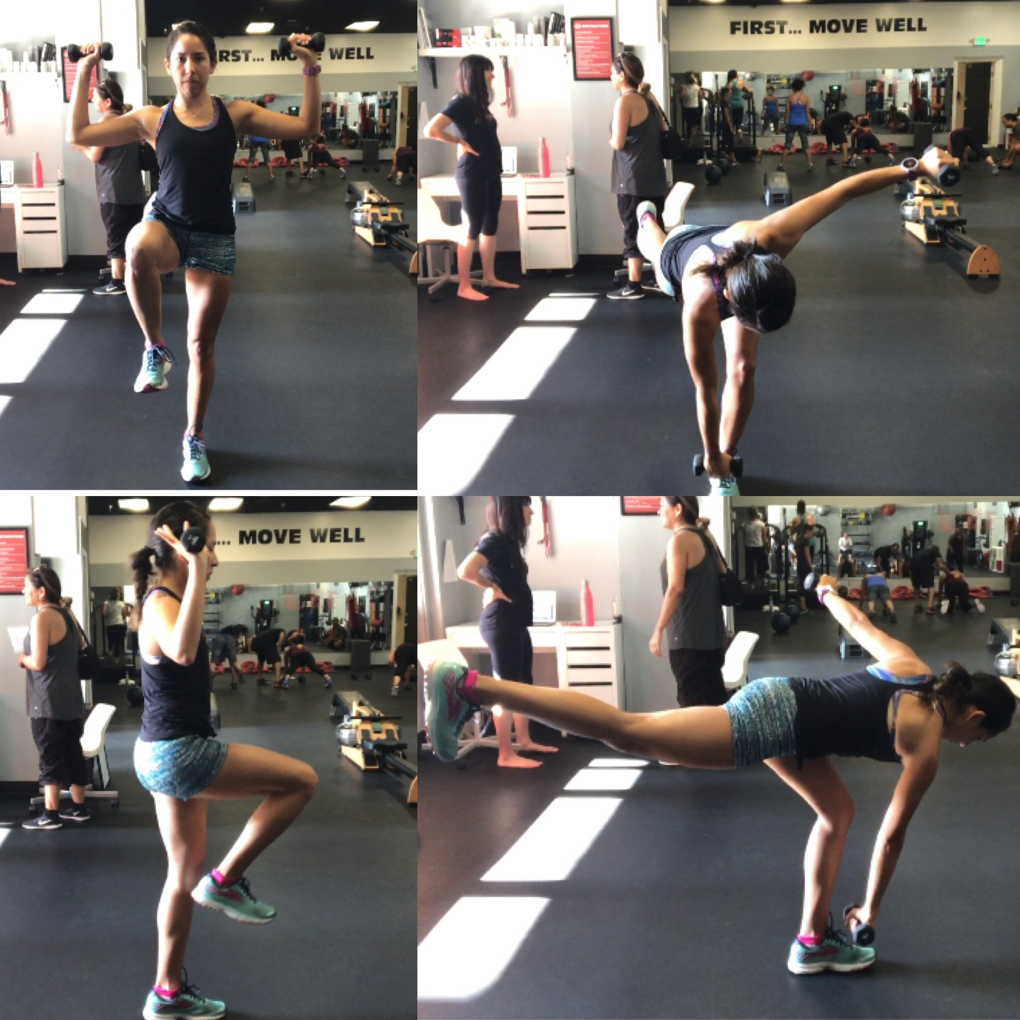 Single Leg Windmill touches with DB