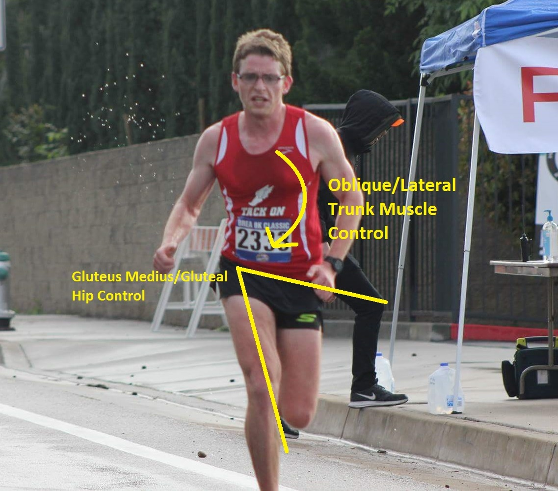 Dr. Matt Klein PT, DPT- competitive runner for Cal Coast Track Club