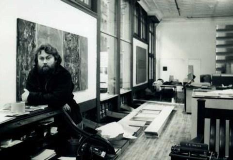 Donald Judd in his studio © Judd Foundation