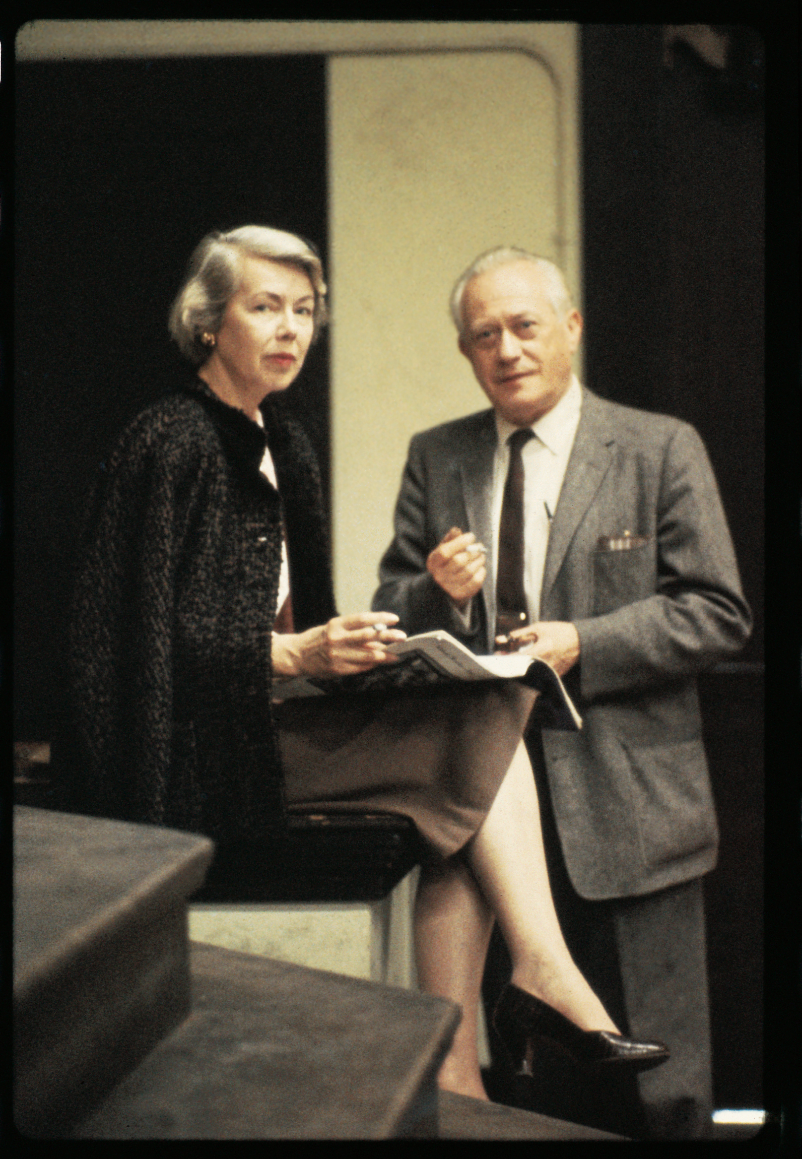 Lorser Feitelson and Helen Lundeberg, c. 1960s