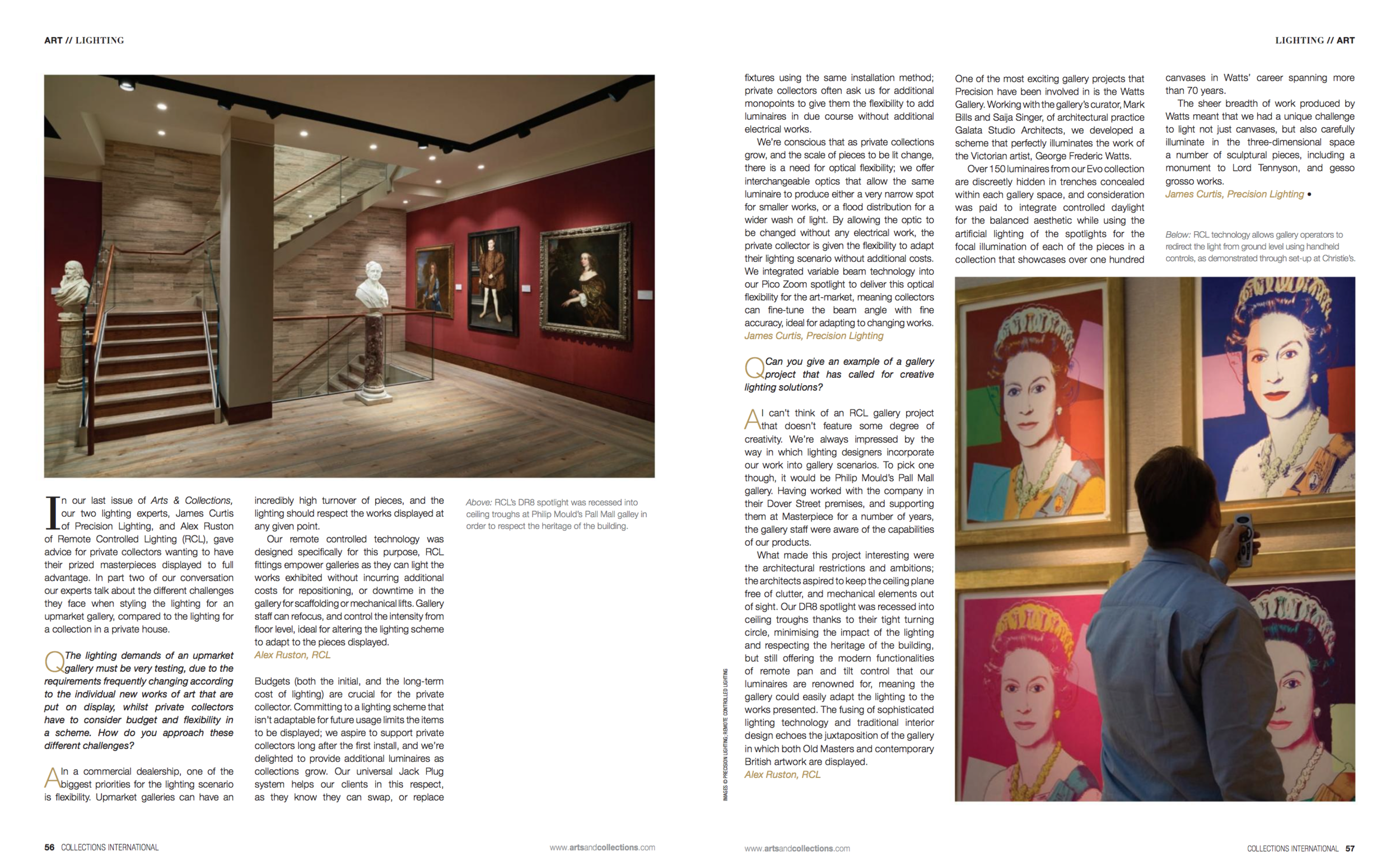 Arts & Collections pp. 56-57