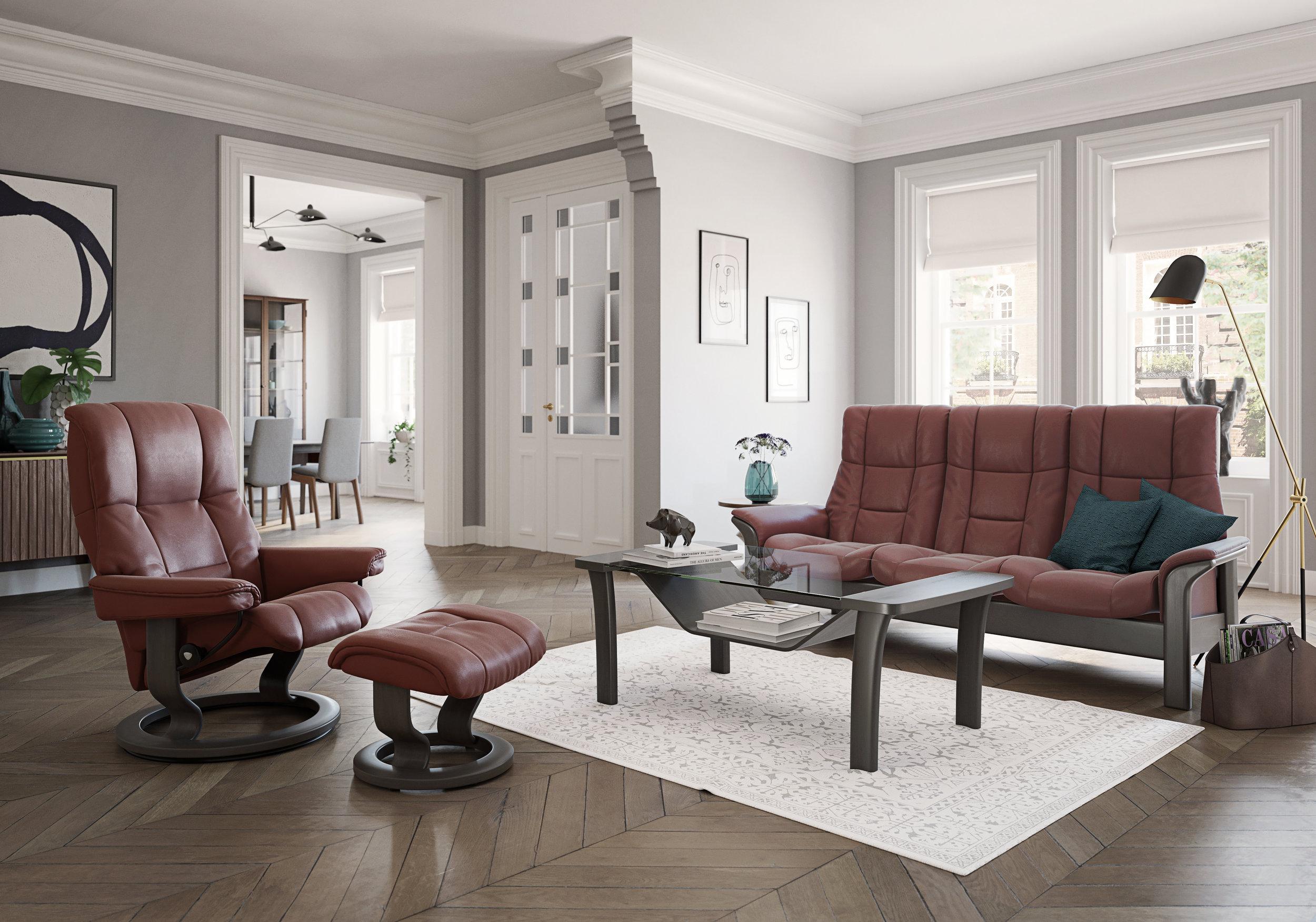 Stressless Mayfair & Stressless Windsor Sofa