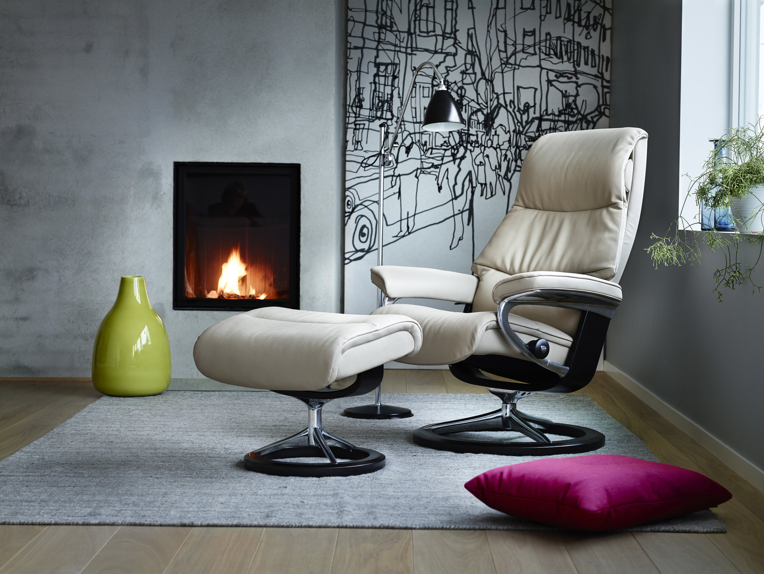 Stressless View Signature Base - Stressless Chair