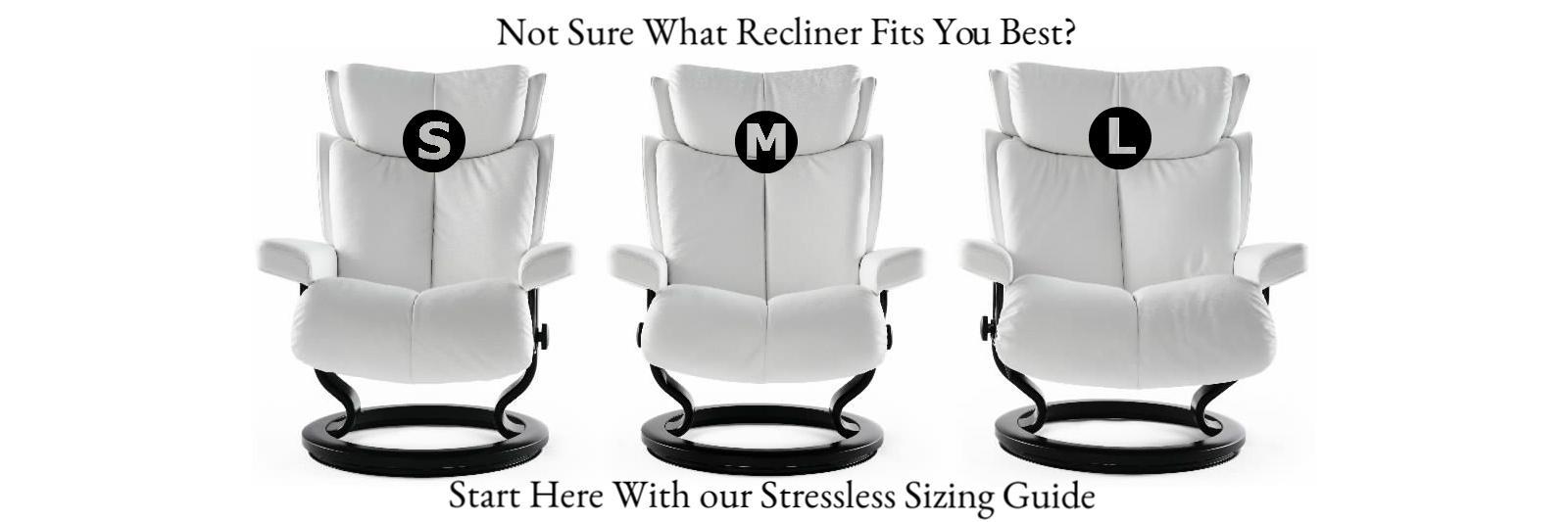 Stressless Sizes