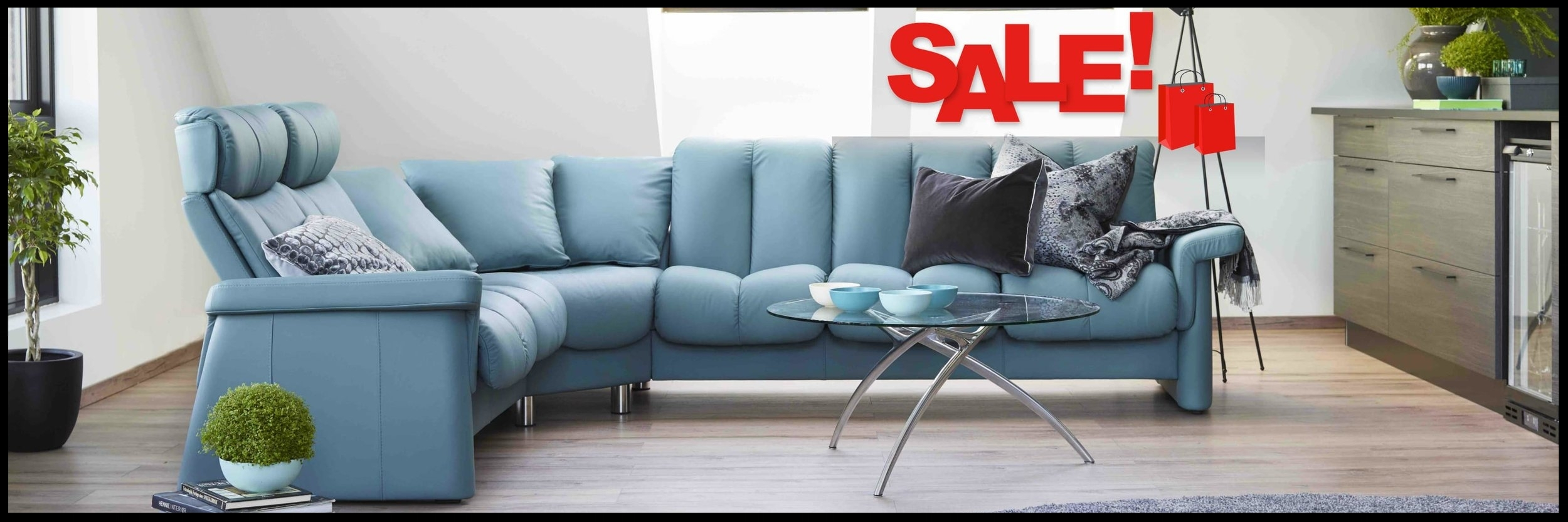 Stressless Sectionals, Sofas, Recliners Clearance