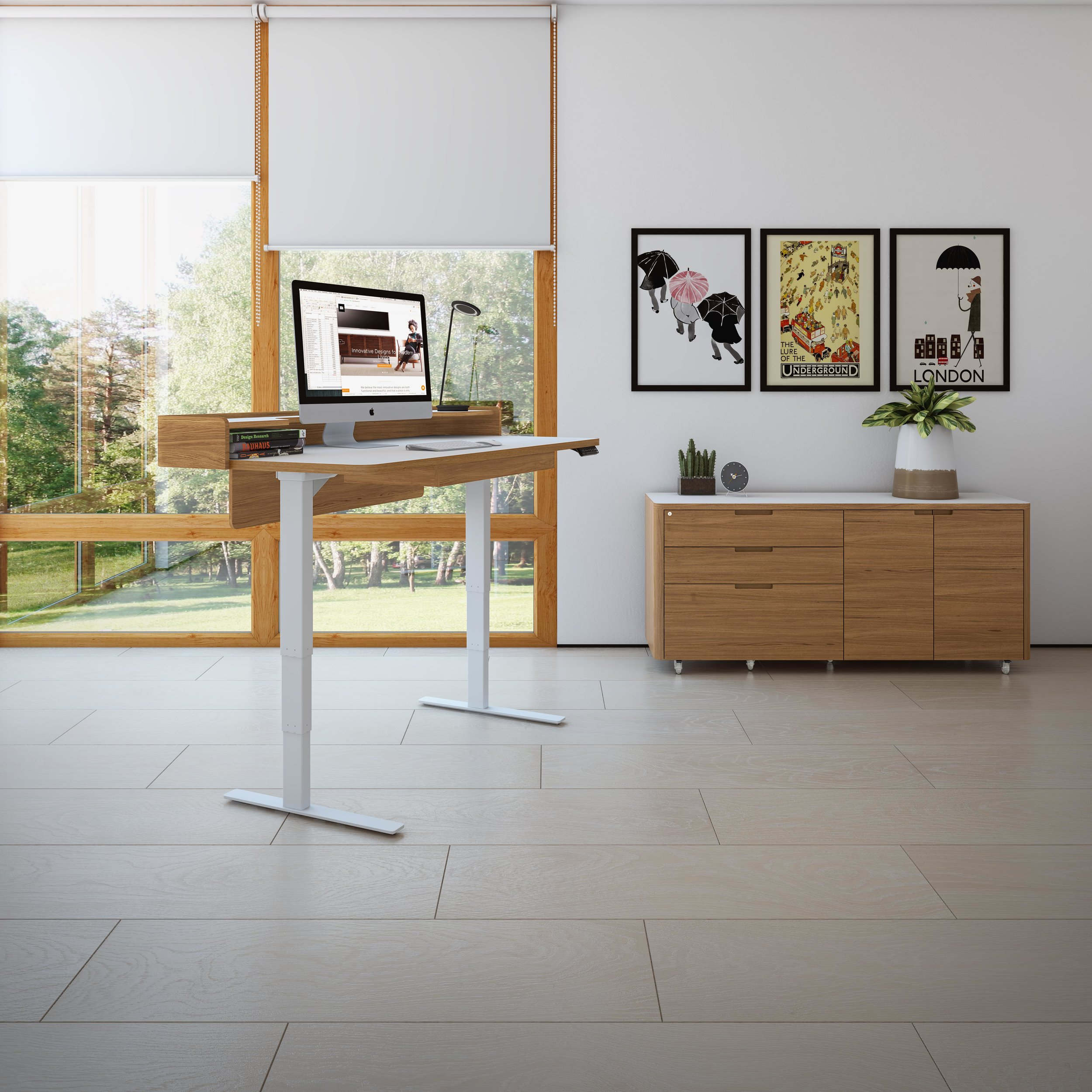 Height Adjustable desks add flexibility to your comfort and ergonomics
