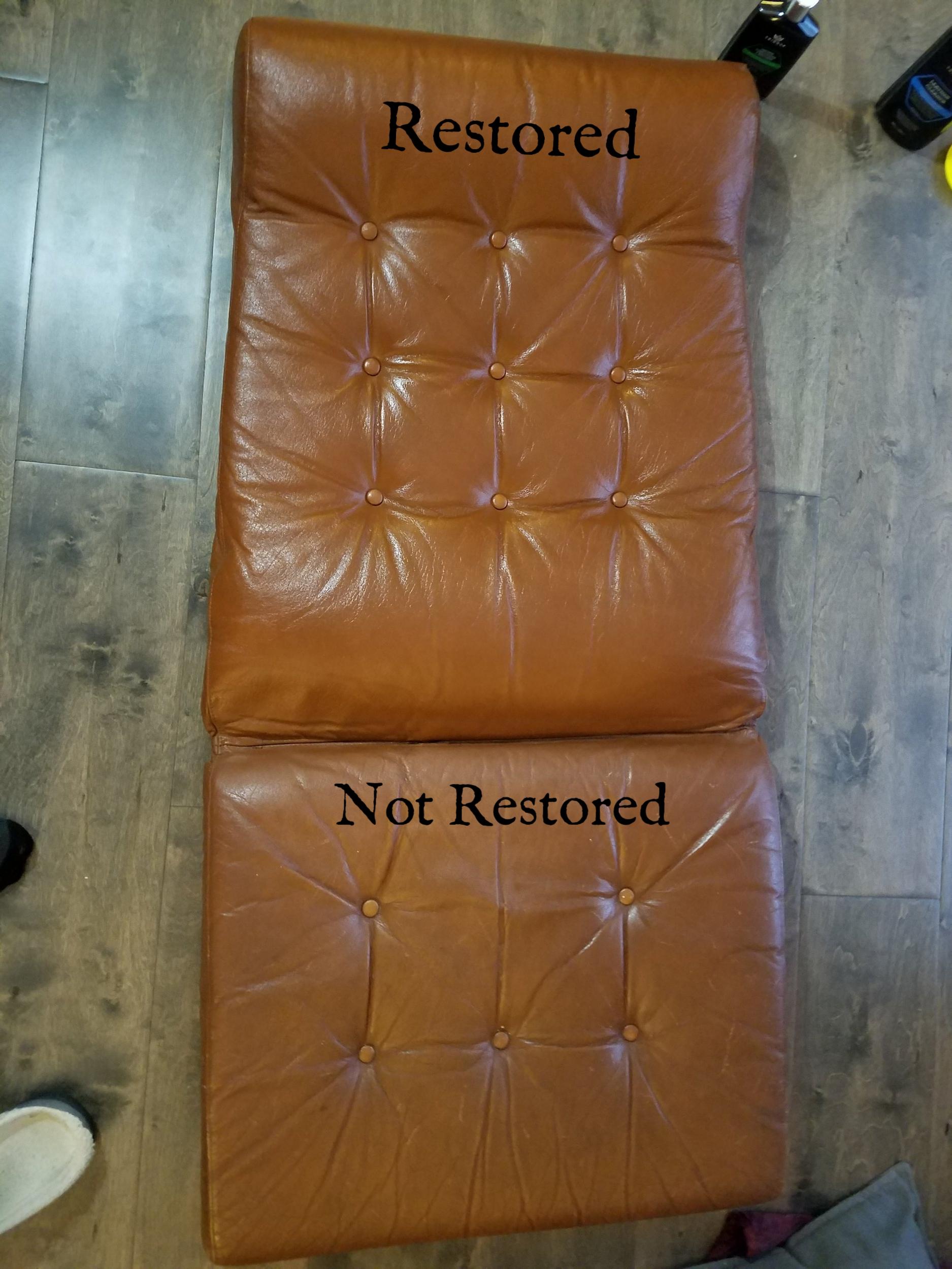 Vintage Stressless Recliner Restoration Cusion