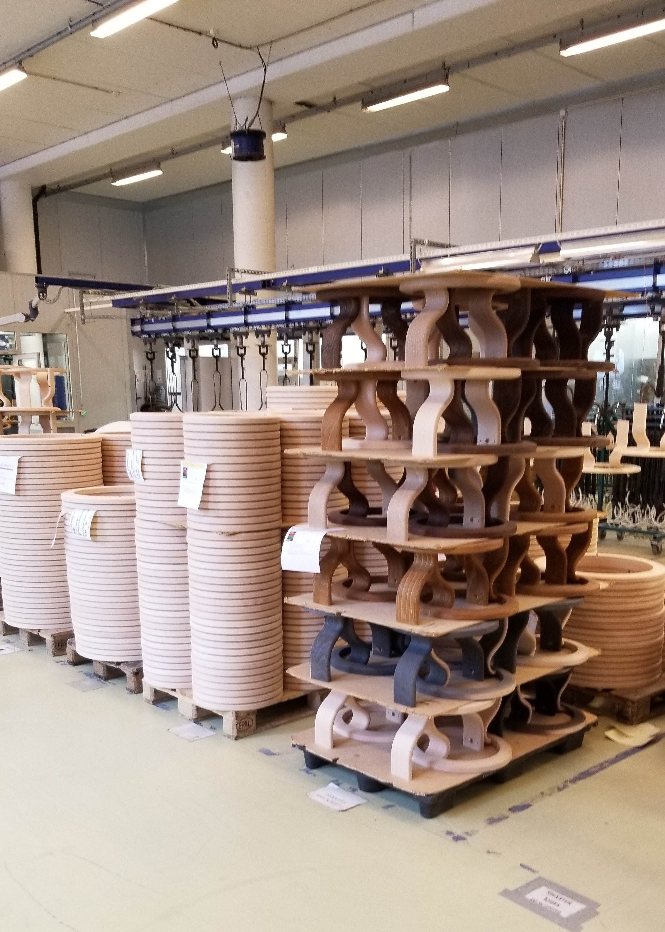 Visiting the Ekornes Factory in Norway!