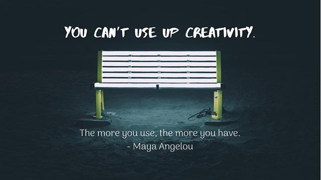 """""""You can't use up creativity. The more you use, the more you have."""" - Maya Angelou⠀ ⠀ #MondayMotivation #Creativity #DesignerHomeComfort"""