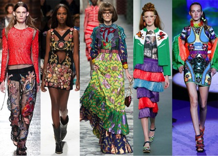 From Gucci, to Prada, to Emilio Pucci, the new reign of maximalism in fashion is impossible to ignore.