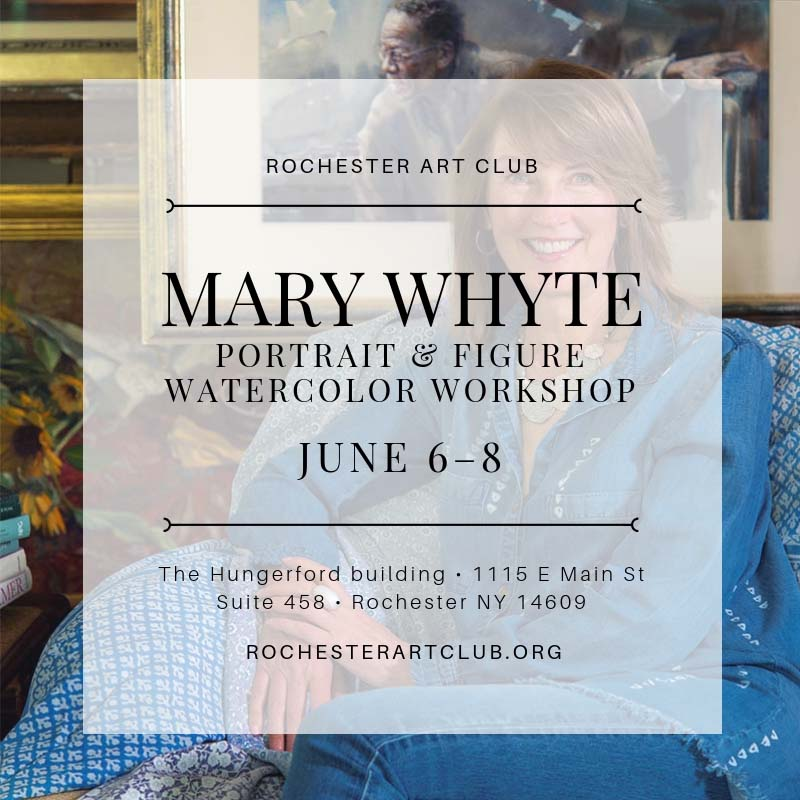watercolor painting workshop in rochester new york