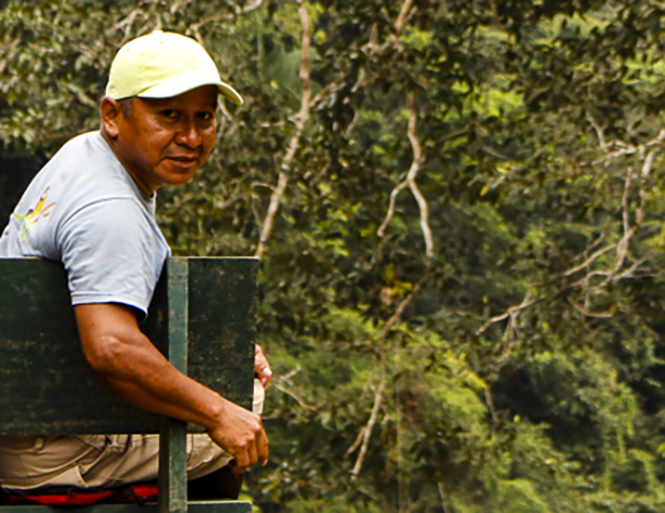 A son of therainforest - As a boy, Jose Macanilla learned to love the land; now he teaches others to love it, too