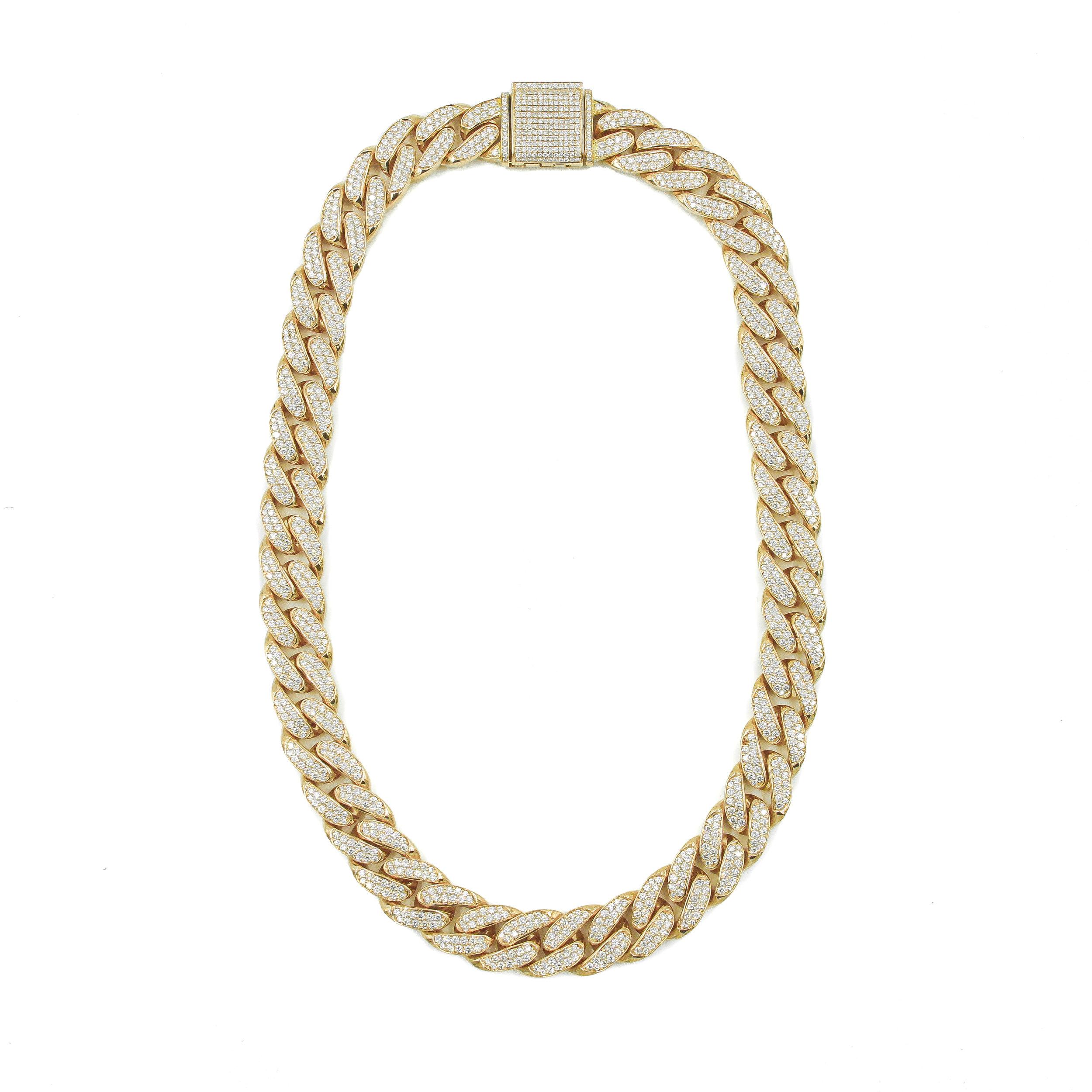 Diamond Cuban Necklace
