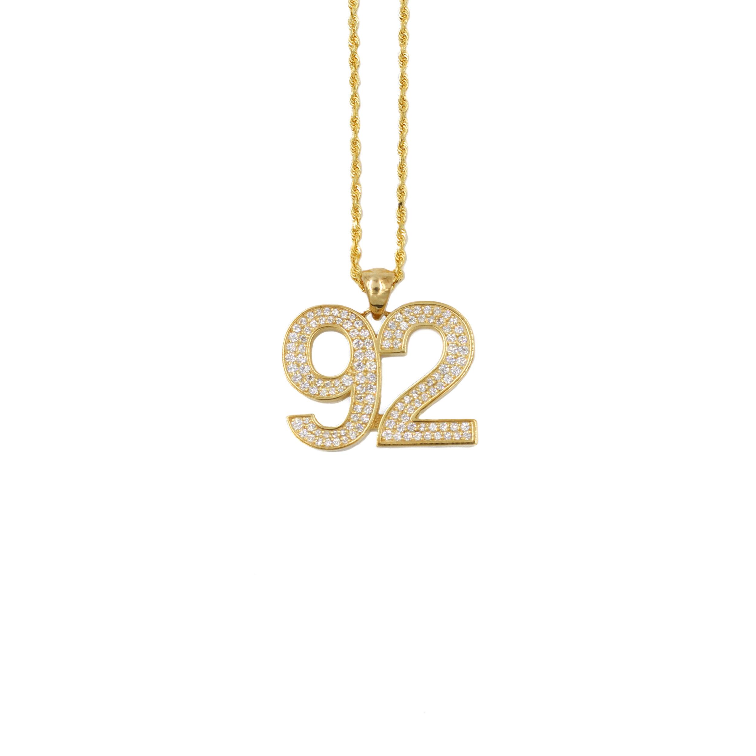 92 Diamond Pendant