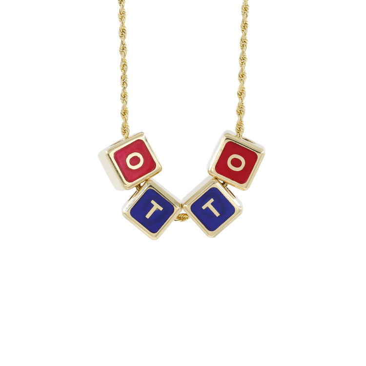 Shayan Afshar Building Blocks Kids Necklace