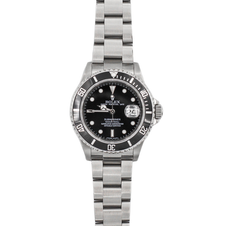 2007 Stainless Steel Black Dial - Rolex Submariner Date