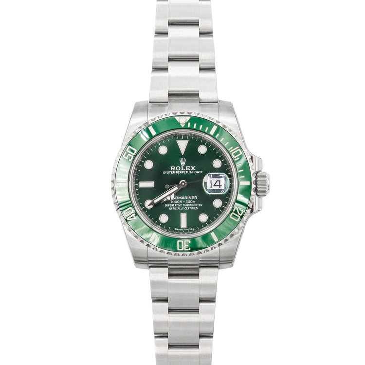 Hulk 2017 Stainless Steel Green Dial - Rolex Submariner Date