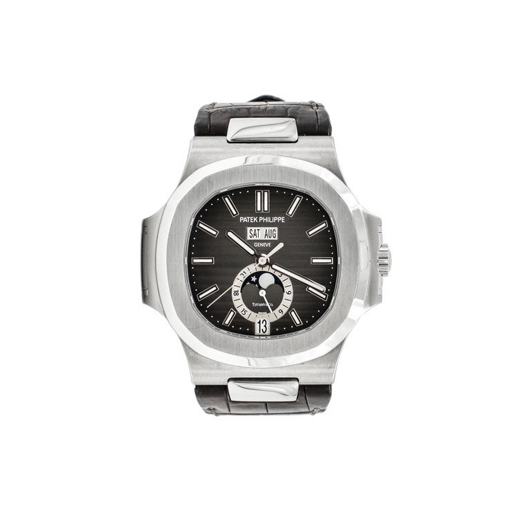 Stainless Steel Black Tiffany & Co Dial - Patek Philippe Nautilus 5726