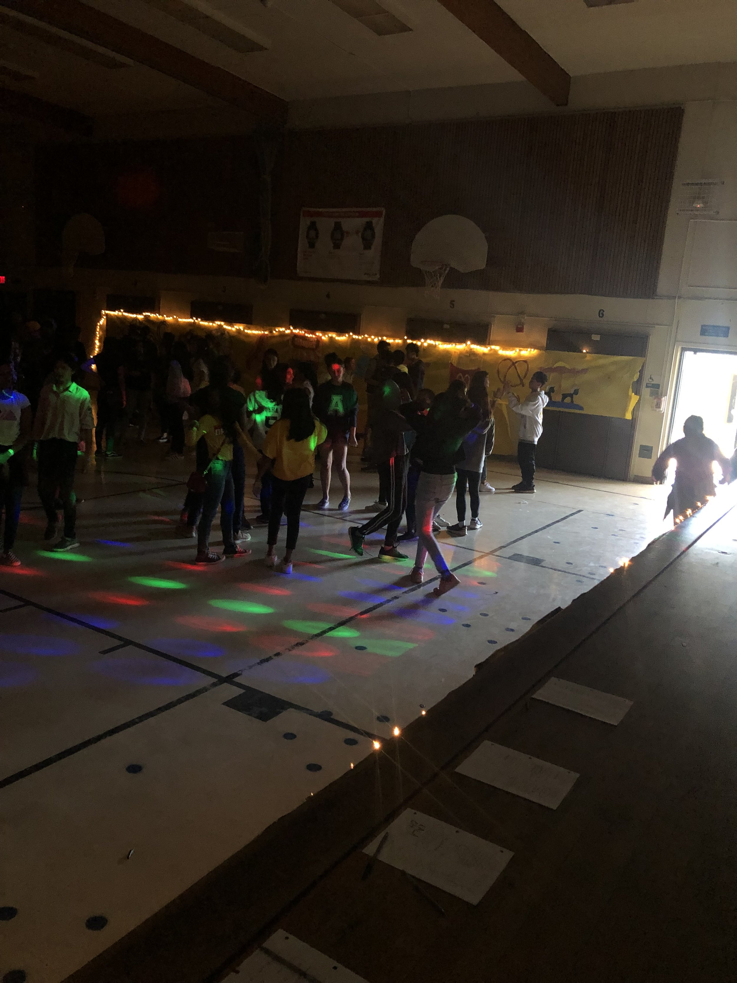 Horner Students love to dance, especially when the DJ plays their requests!