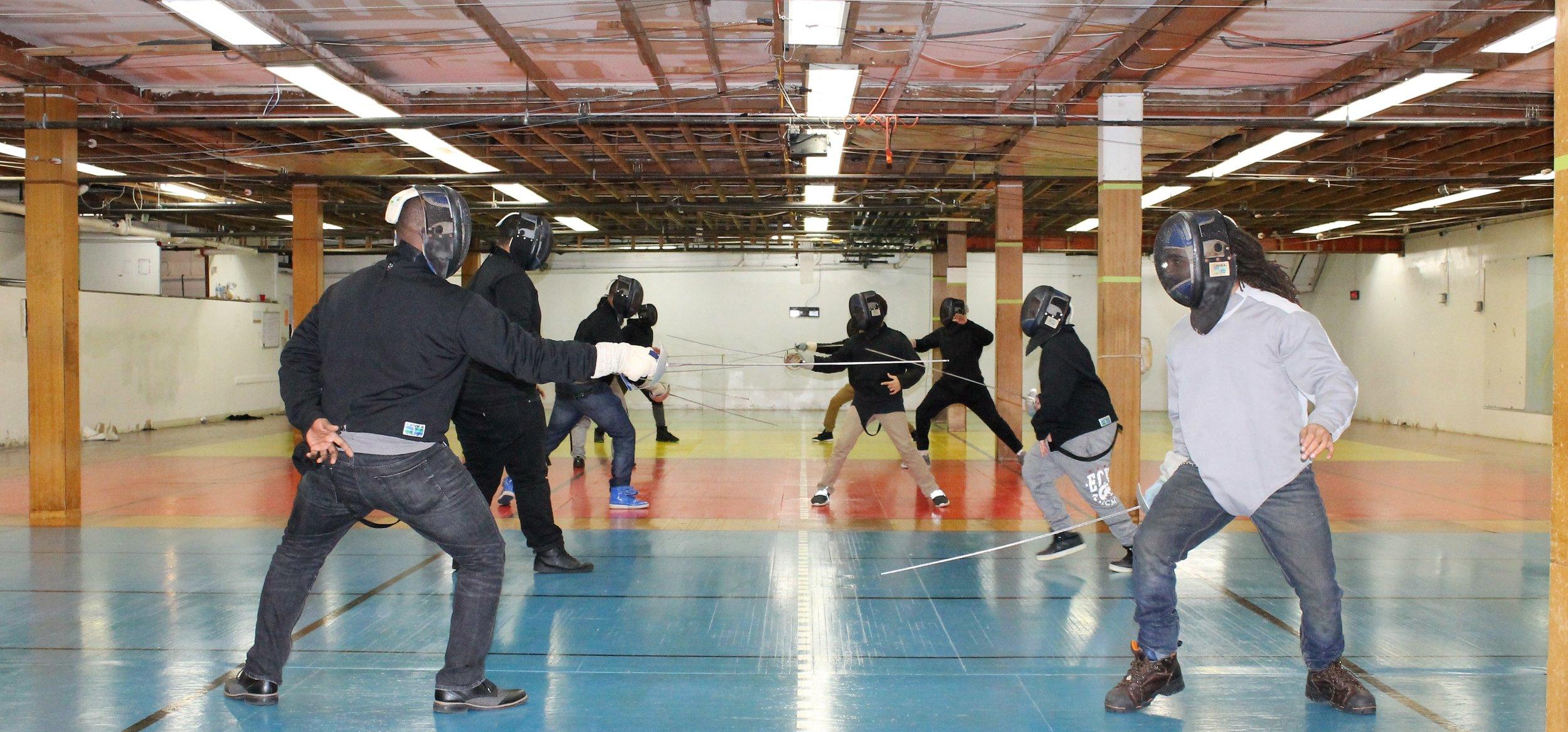 New Lens Urban Mentoring Society with Minnesota Swords Club Fencing #NewLensSociety 09.JPG