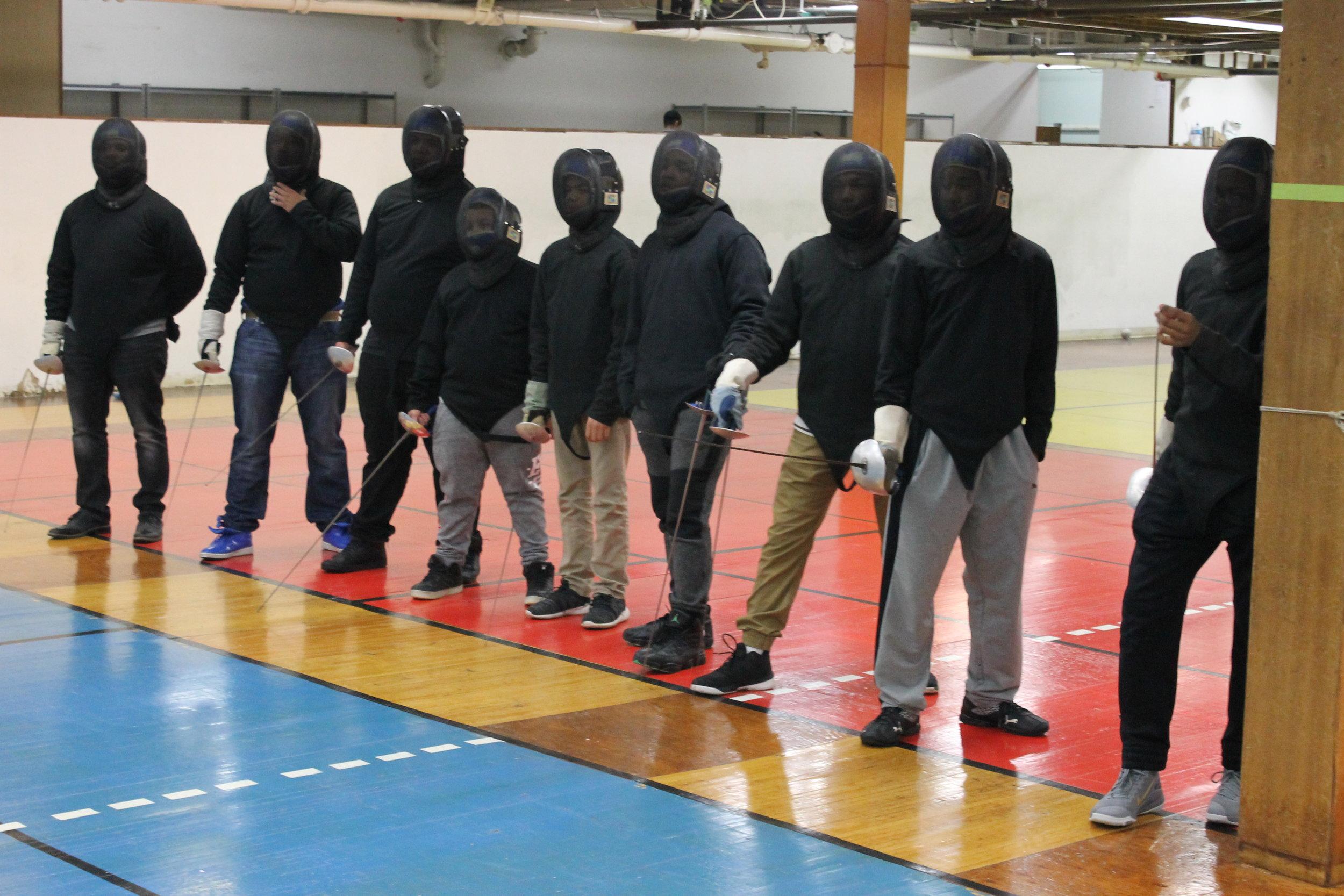 New Lens Urban Mentoring Society with Minnesota Swords Club Fencing #NewLensSociety 08.JPG