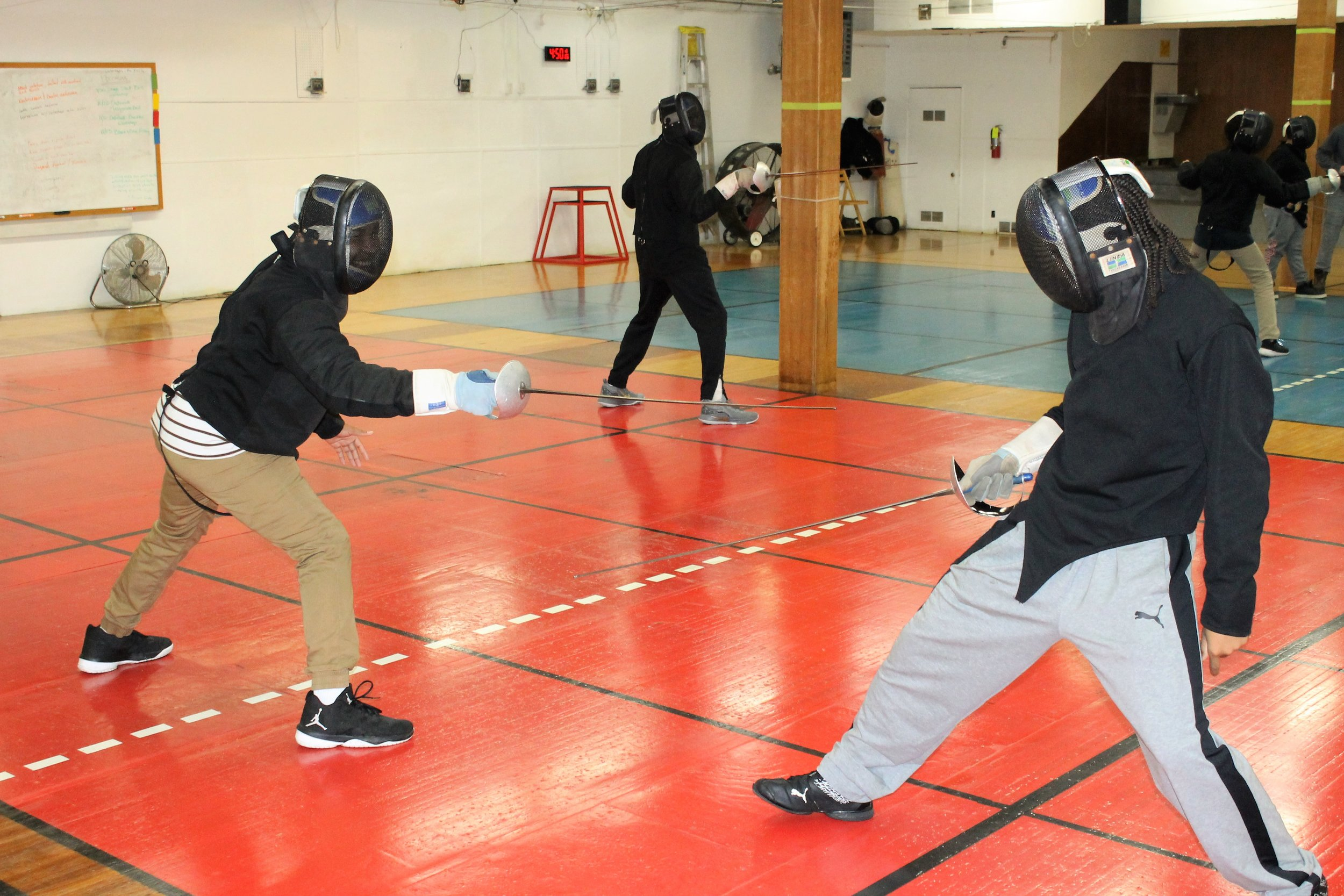 New Lens Urban Mentoring Society with Minnesota Swords Club Fencing #NewLensSociety 10.JPG