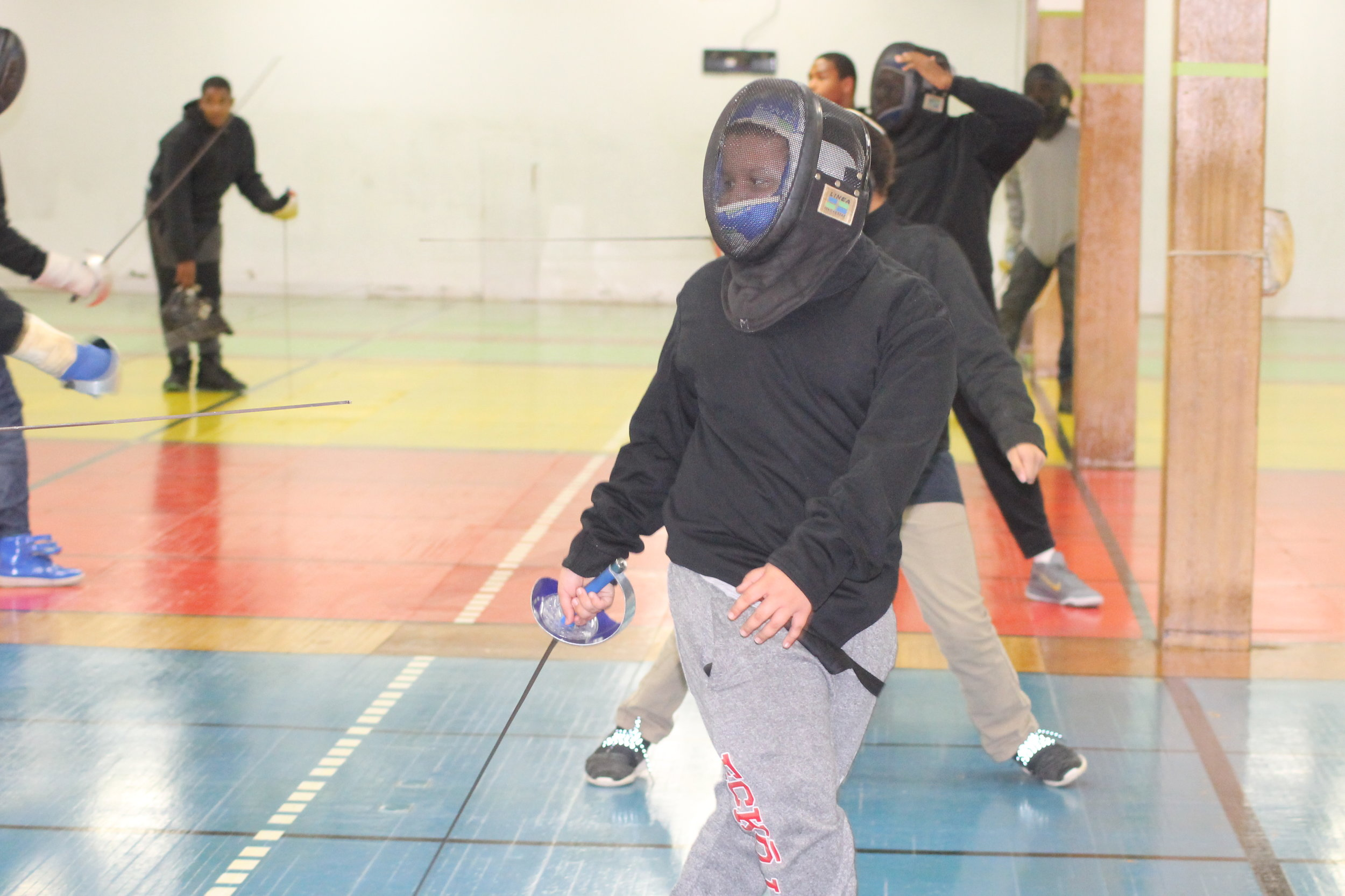 New Lens Urban Mentoring Society with Minnesota Swords Club Fencing #NewLensSociety 12.JPG