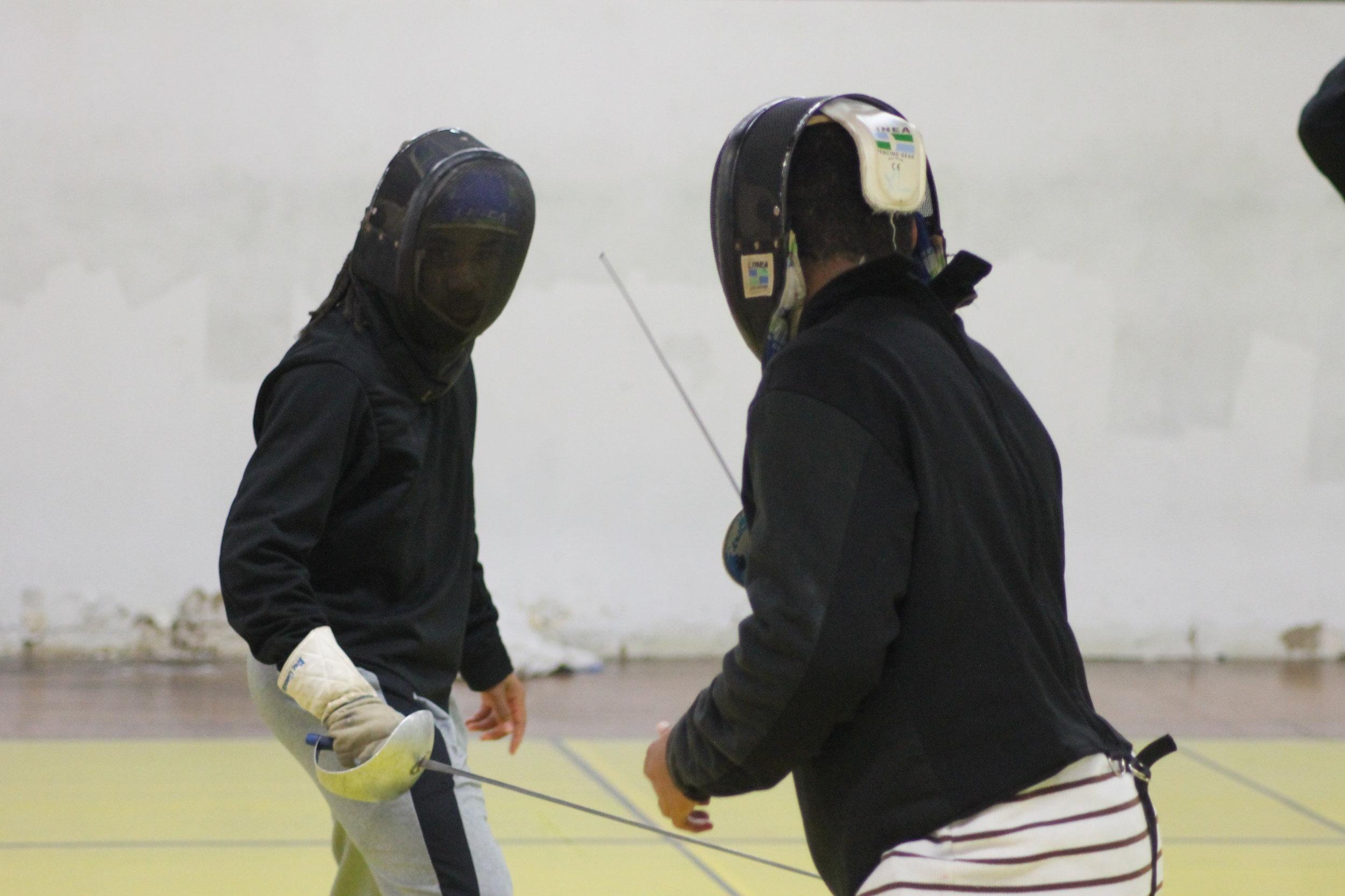 New Lens Urban Mentoring Society with Minnesota Swords Club Fencing #NewLensSociety 13.JPG