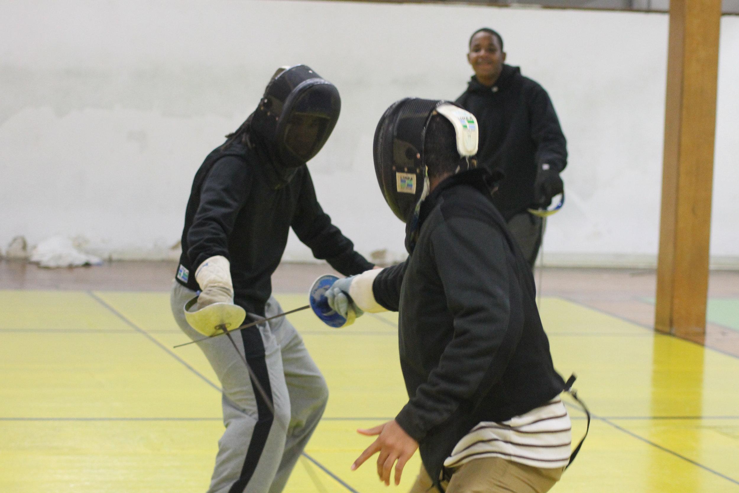 New Lens Urban Mentoring Society with Minnesota Swords Club Fencing #NewLensSociety 14.JPG