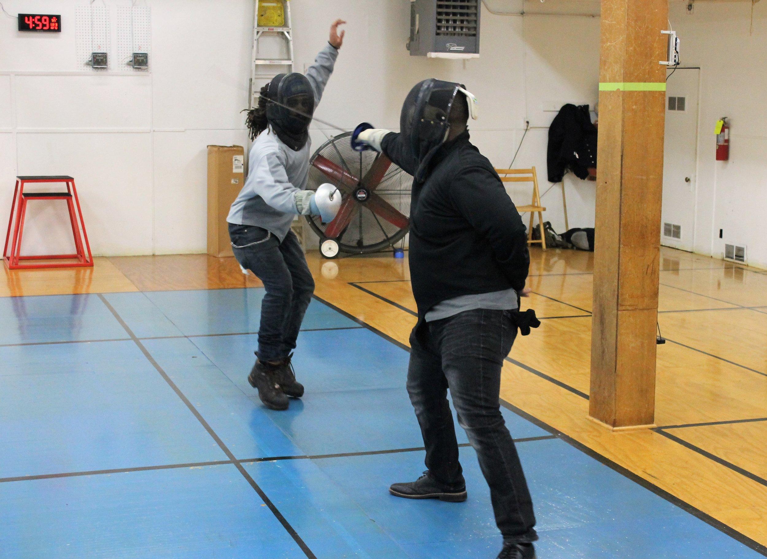 New Lens Urban Mentoring Society with Minnesota Swords Club Fencing #NewLensSociety 16.JPG