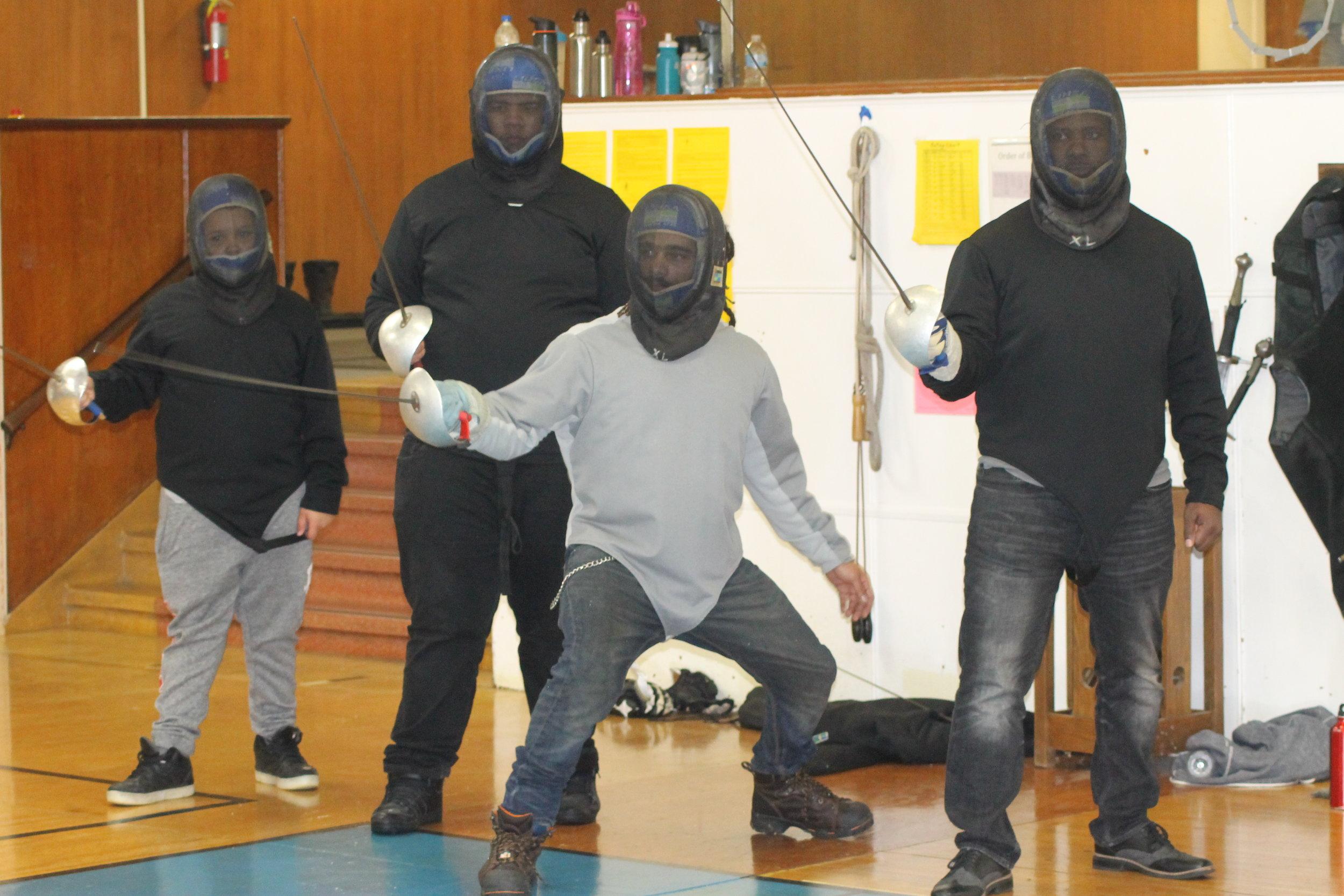 New Lens Urban Mentoring Society with Minnesota Swords Club Fencing #NewLensSociety 04.JPG