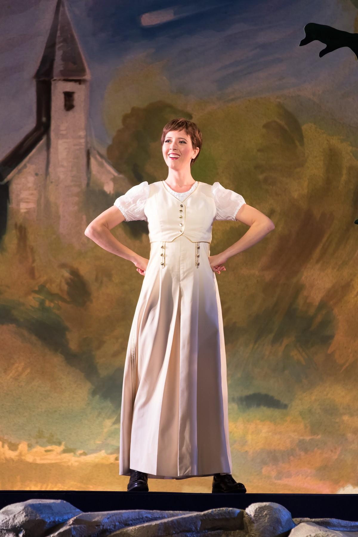 Lisette as Marie in Donizetti's  La fille du Regiment  at Washington National Opera.