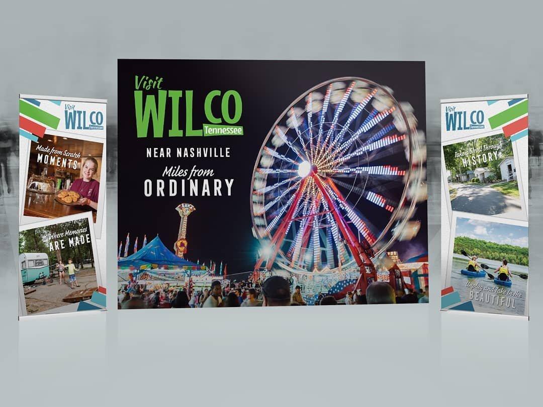Tradeshow Design for Wilson County Convention & Visitors Bureau