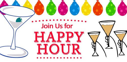 Wilder's Bistro Happy Hour - Join us Sunday – Thursday from 5-8pm for Happy Hour! All guests sitting at the bar will receive Buy One, Get One FREE on ALL beverages and ½ off appetizers with the purchase of an entrée (one per party please).