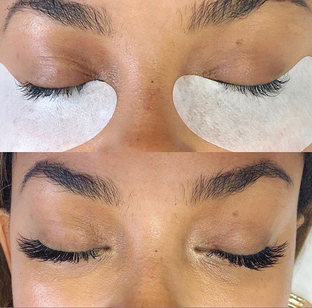 The mascara's natural look with natural volume - like they are your own healthy lashes #luxuslashes #healthylashes #luxuslashesny #lashextensions #bestlashes
