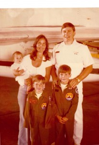 Me and my family in 1977