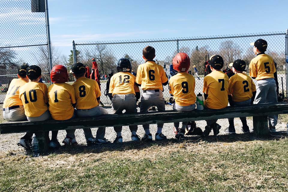 Little League Baseball Team. Photo: Sarah Smiley