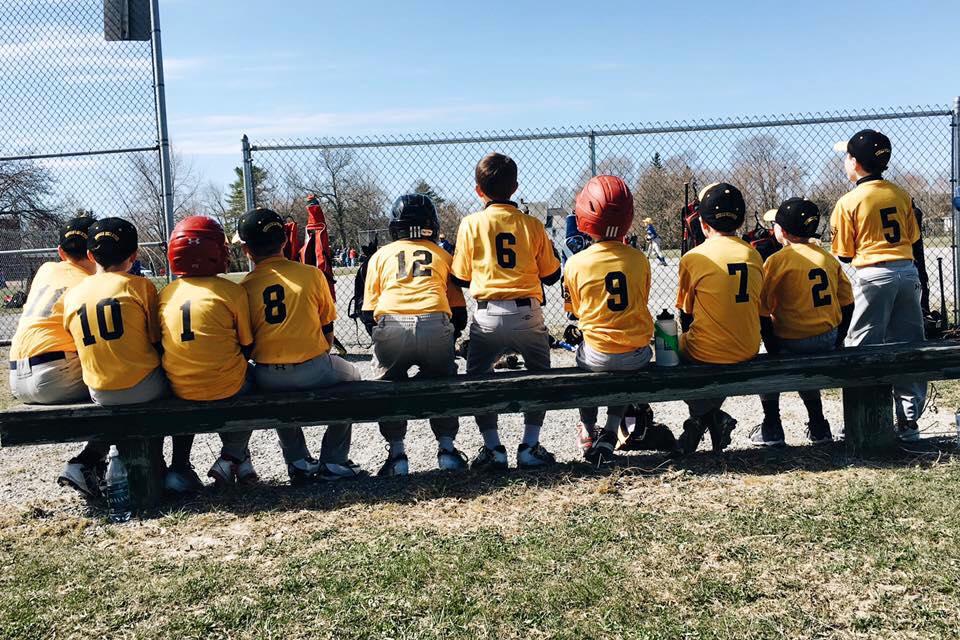 Little League Baseball Team. Photo: Sarah Smiley