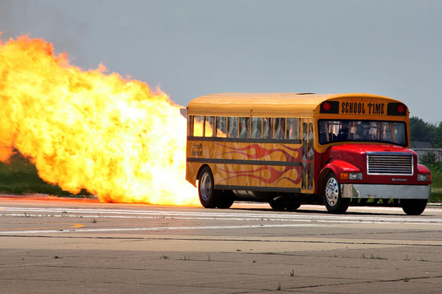 Where there is fire, there is a transformation bus from a large consulting firm
