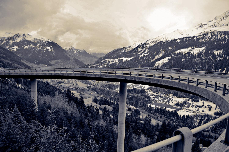 Flyover - Switzerland