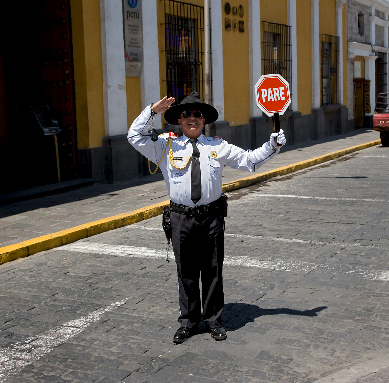 Policeman - Peru