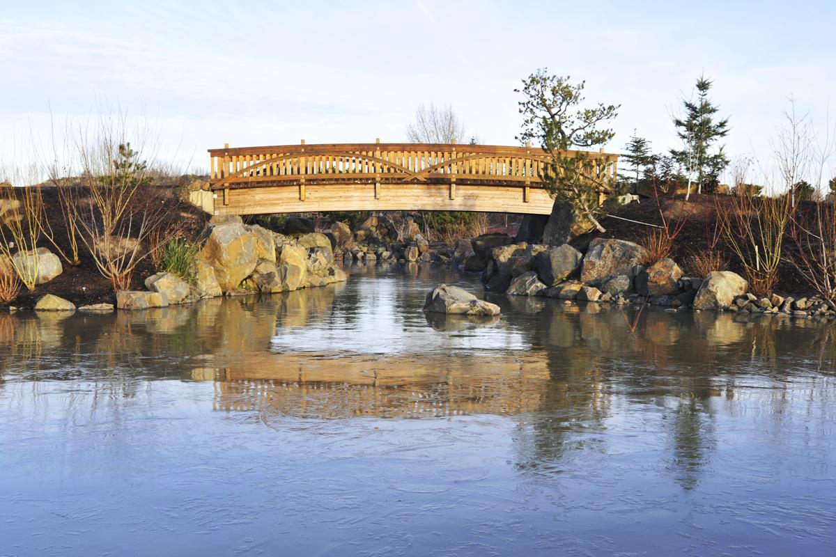 Water Garden Bridge 2015